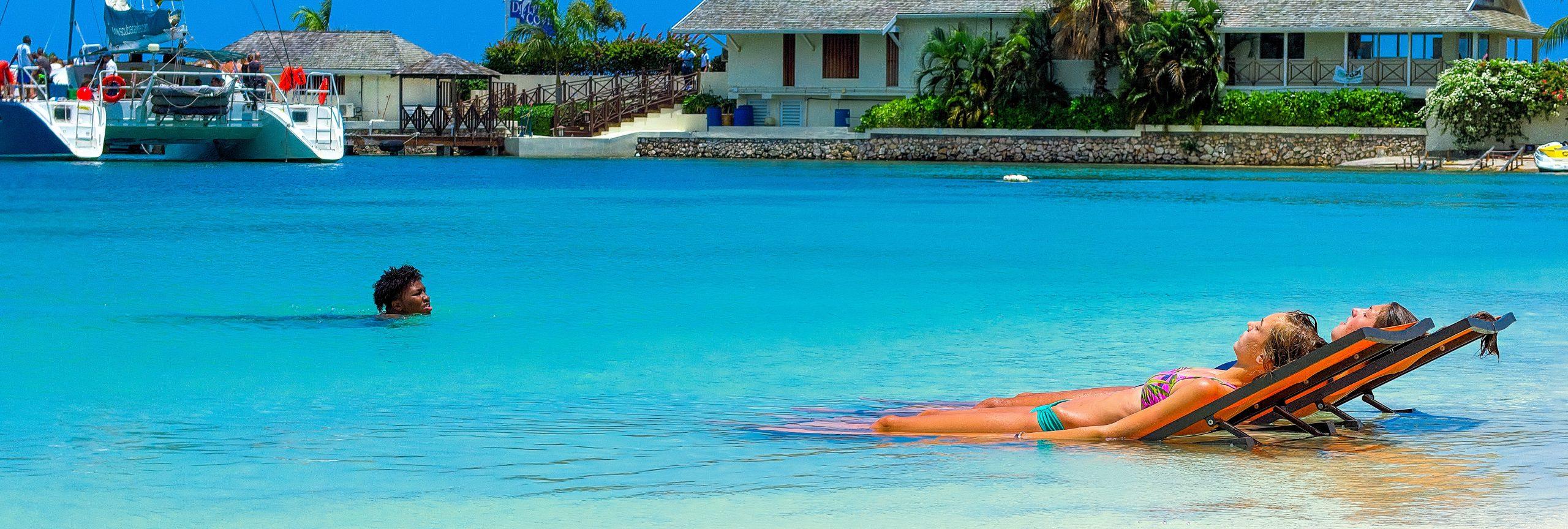 Jamaica kustlijn strand - De Planeet Reizen
