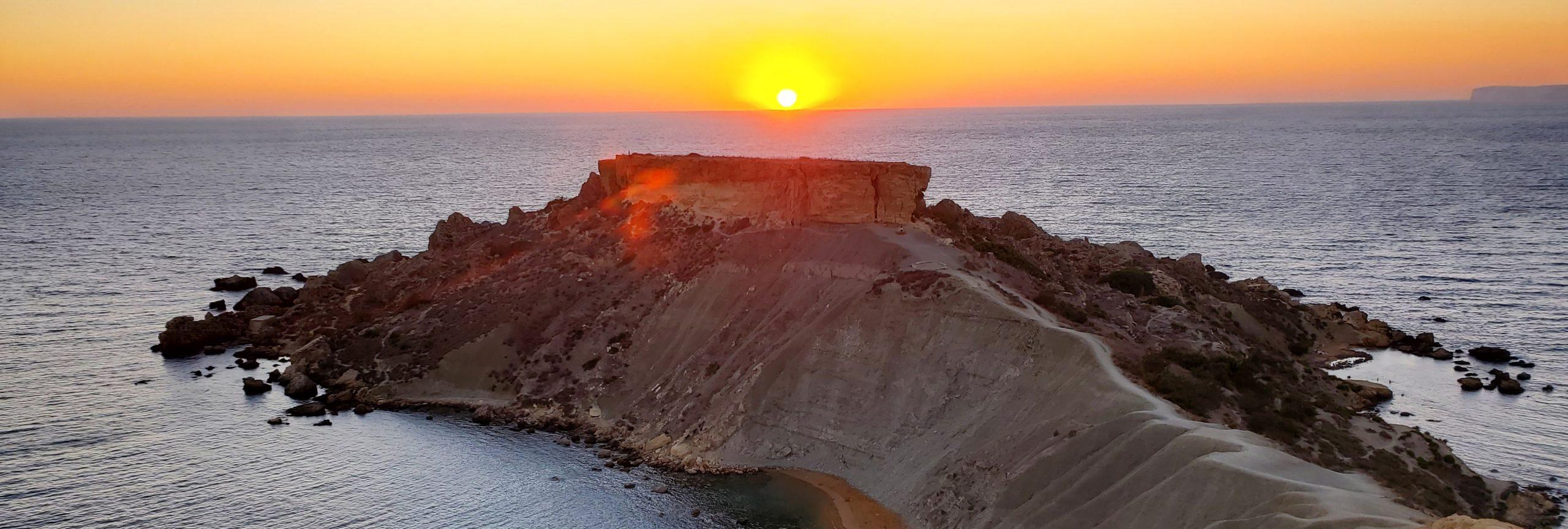 Malta vakantie - zonsondergang 1 - De Planeet Reizen