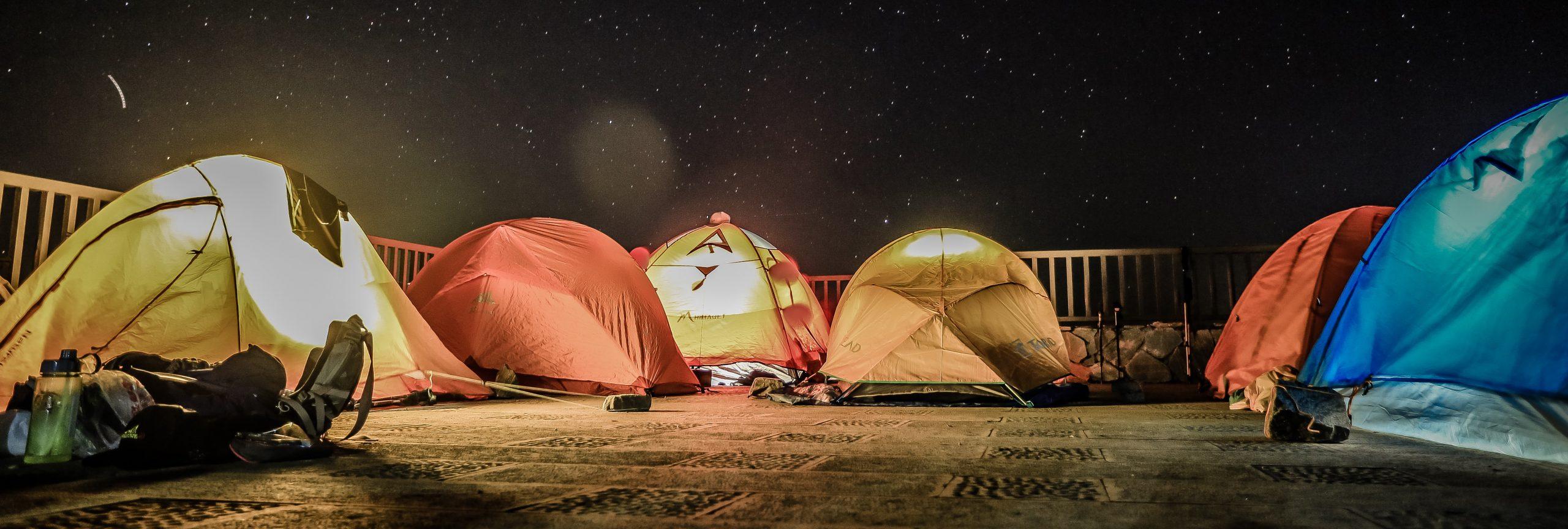 campingvakantie - tentjes - De Planeet Reizen