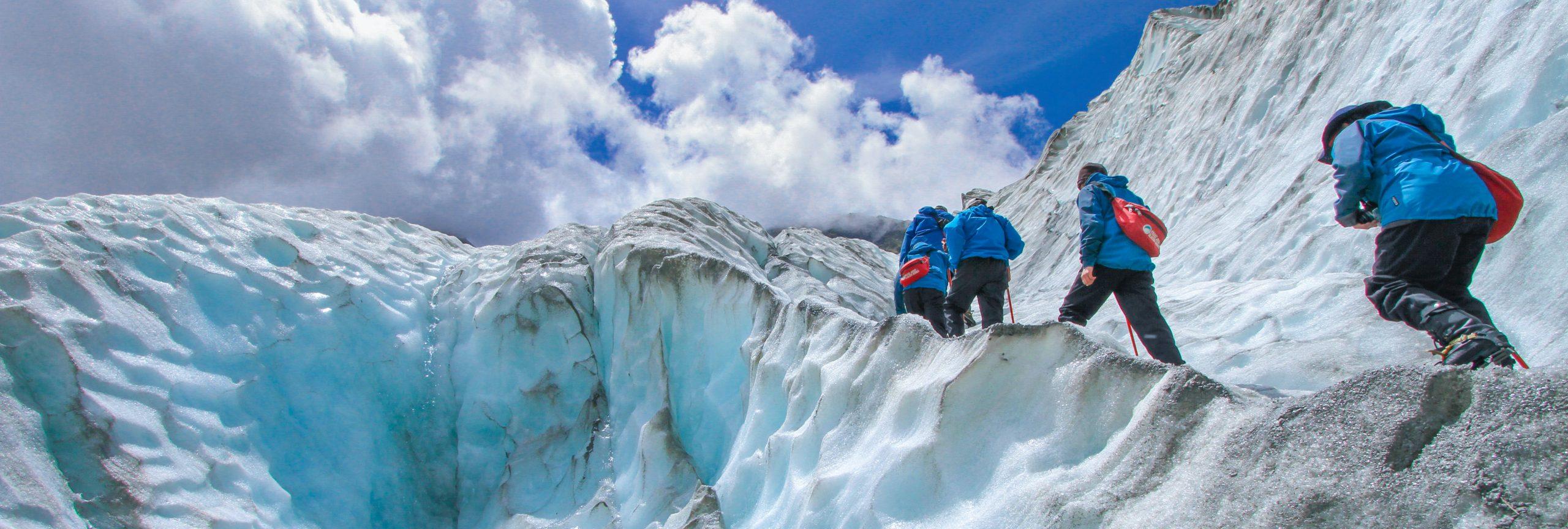 gletsjerwandeling - De Planeet Reizen
