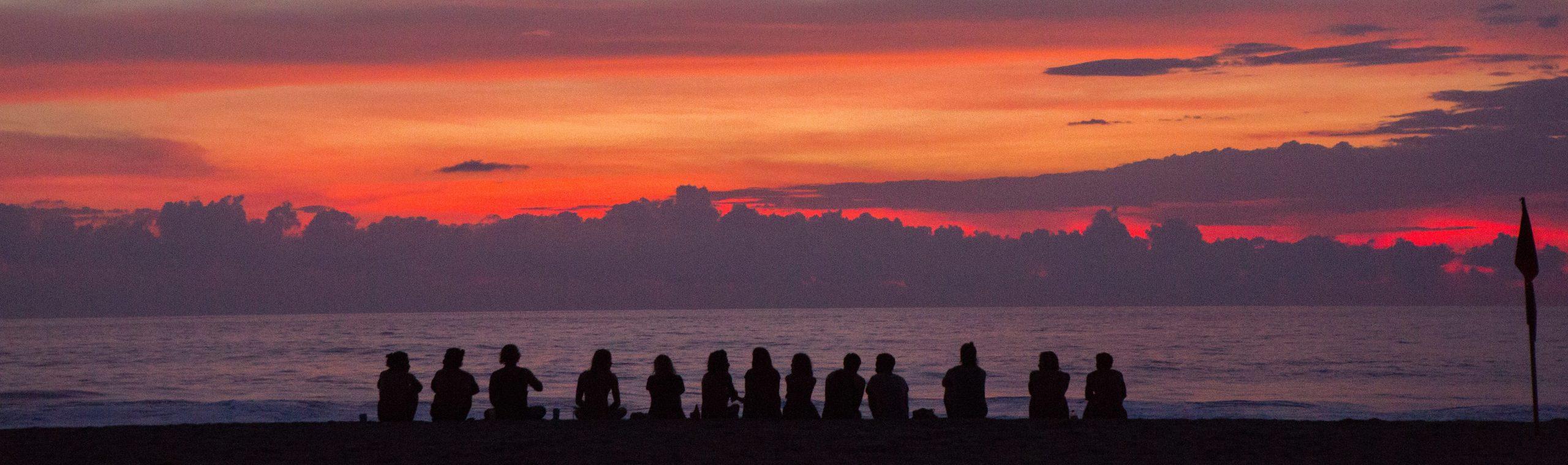 groepsreis zonsondergang - De Planeet Reizen