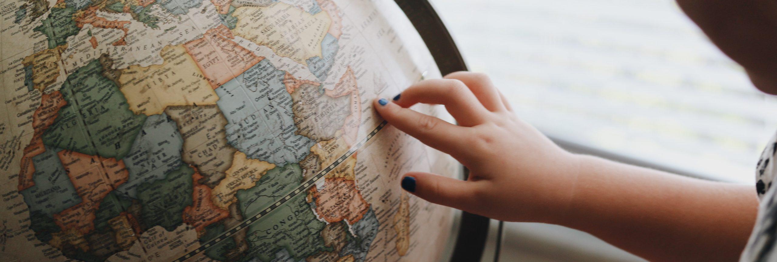 rondreizen - wereldbol  - De Planeet Reizen